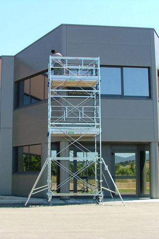 Ponteggio professionale in acciaio System 100 X 180